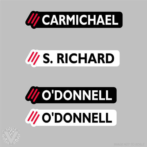 Shop/Team Colorado MultiSport Name Stickers-10 pack