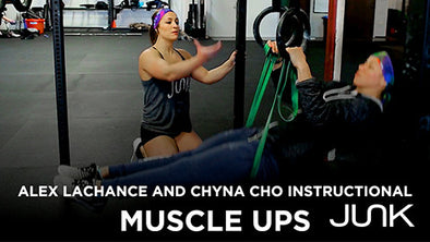 How To Perfect A Muscle Up with Alex LaChance and Chyna Cho