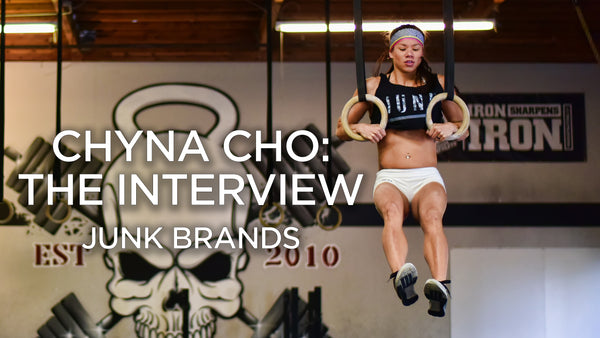 JUNK Brands Interview Chyna Cho CrossFit Games