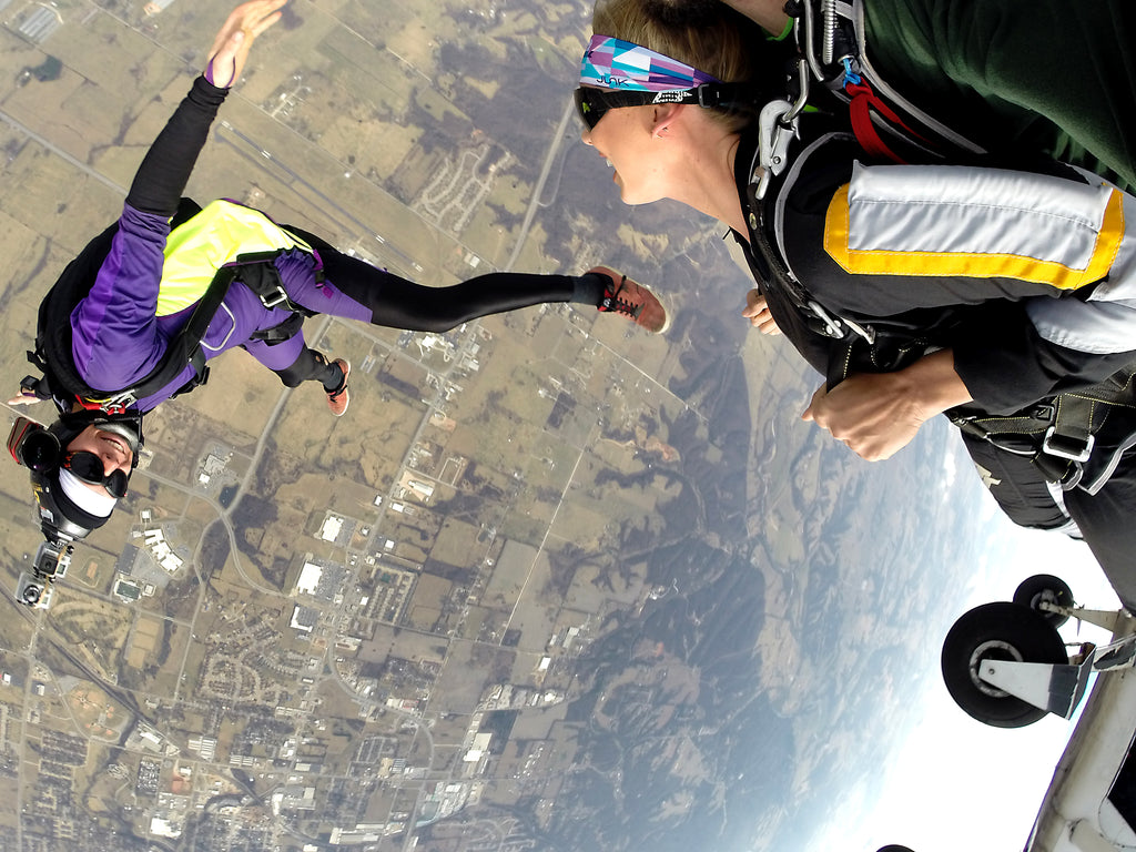 JUNK Lab Extreme Test Skydiving Headbands