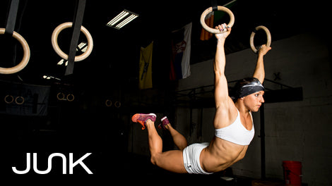 JUNK Brands Athlete Kelley Jackson Reebok CrossFit Games