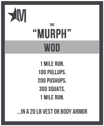 JUNK Brands Murph WOD Memorial Day