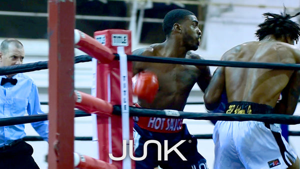 JUNK Brands Athlete Kalvin Henderson Boxing