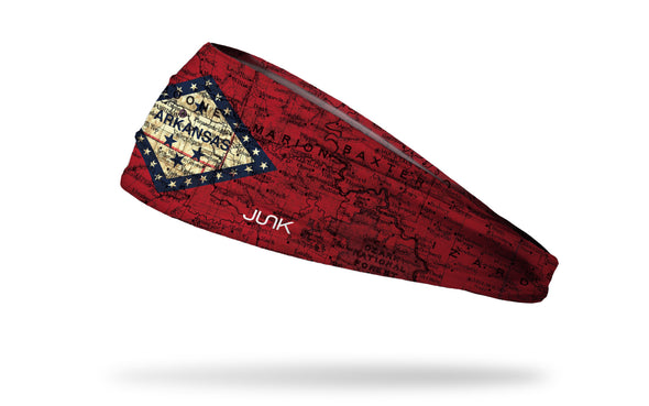 Arkansas State Flag Map Headband