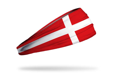 Denmark Flag Headband