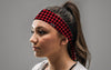 Diamond Checkered Headband
