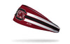 University of South Carolina: Gamecocks Stripes Garnet Headband