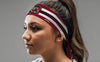 University of South Carolina: Gamecocks Stripes Garnet Tie Headband