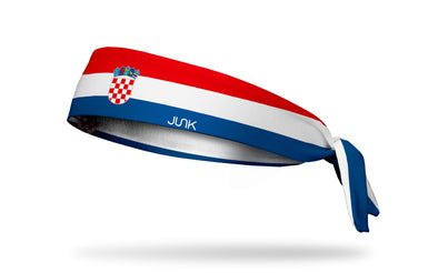 Croatia Flag Headband