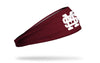 Mississippi State University: Baseball Maroon Headband