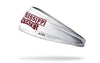 Mississippi State University: Wordmark White Headband