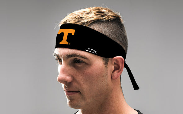 University of Tennessee: Logo Black Tie Headband