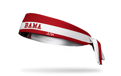 University of Alabama: Bama Stripe Tie Headband
