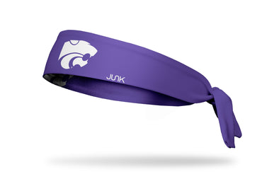 Kansas State University: Wildcat Purple Tie Headband