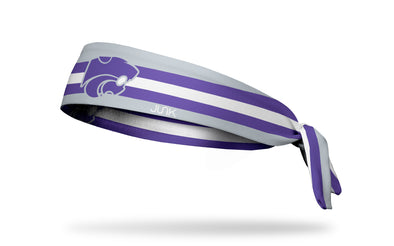 Kansas State University: Football Stripe Tie Headband