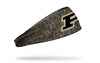 Purdue University: Logo Gold Heathered Headband