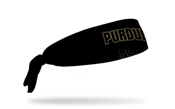 Purdue University: Wordmark Black Tie Headband