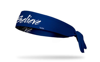 Believe Blue Headband
