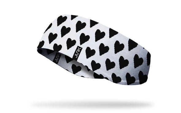Black Heart Ear Warmer