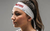 Stanford University: Wordmark White Headband