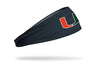 University of Miami: Logo Gray Headband