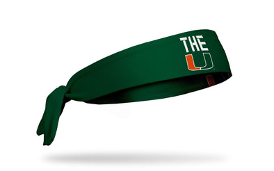 University of Miami: THE U Tie Headband