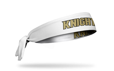 University of Central Florida: Knights White Tie Headband