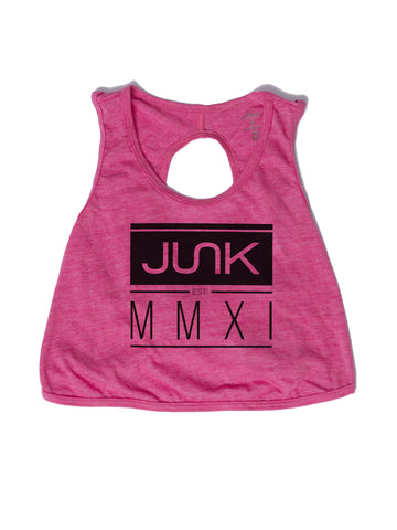 Women's Pink Established Crop Top