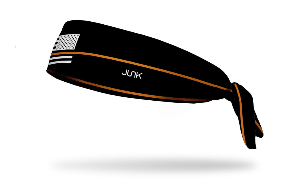 Thin Orange Line, JUNK athletic headband