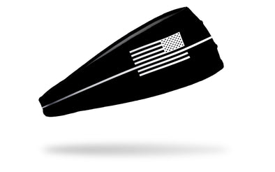 Thin White Line Headband