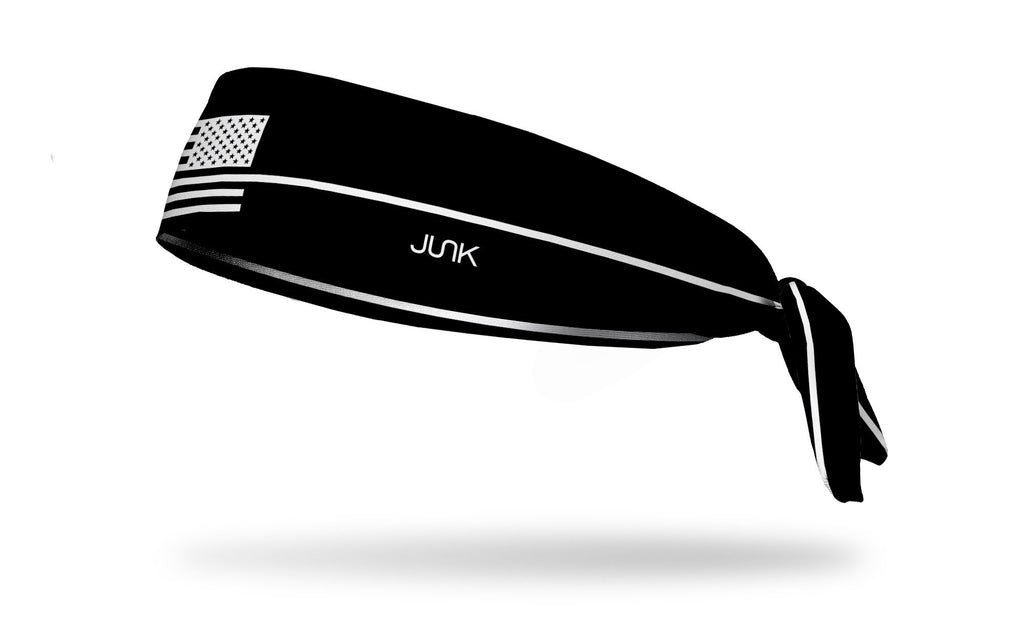 Thin White Line, JUNK athletic headband