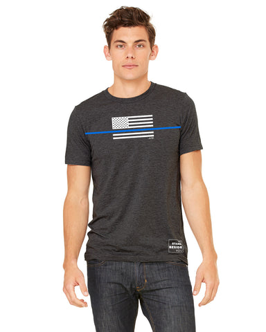 Thin Blue Line T-Shirt, JUNK athletic T-Shirt
