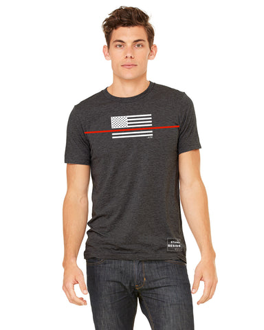 Thin Red Line T-shirt, JUNK athletic T-Shirt