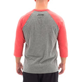 JUNK Red/Grey Raglan Tee