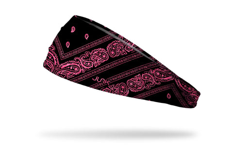 Electric Pink Bandana Headband