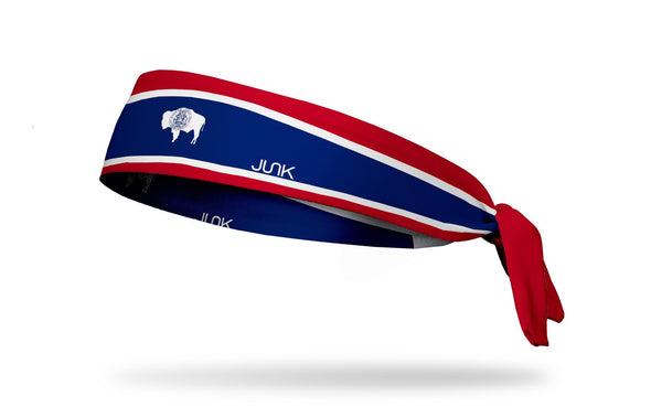 Wyoming Flag Headband