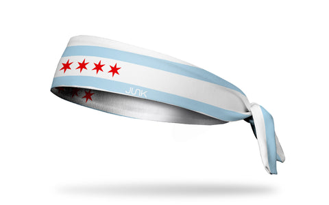 Chicago Flag Headband