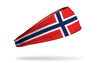 Norway Flag Headband