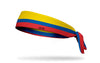 Colombia Flag Tie Headband