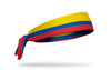 Colombia Flag Tie Headband (Left Side)