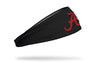 University of Alabama: Crimson and Gray Headband