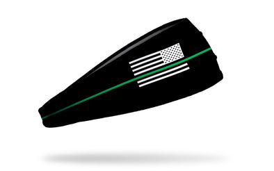 Thin Green Line Headband