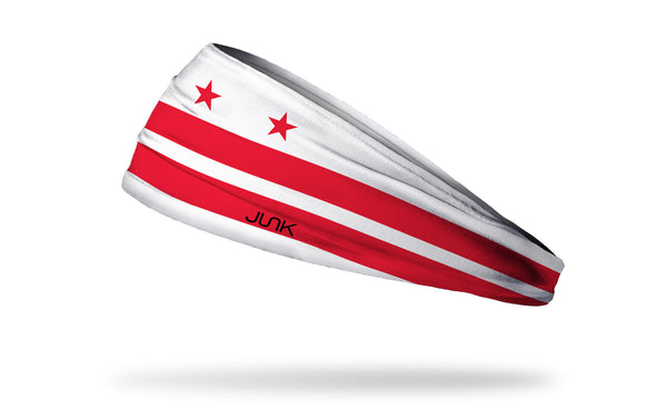 Washington D.C Flag Headband left side