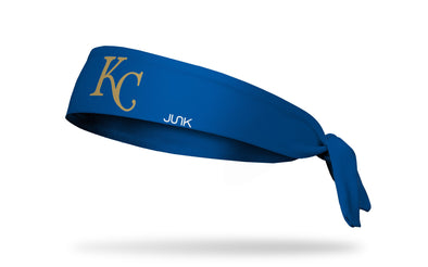 Kansas City Royals: Gold KC Tie Headband