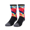 60's Summer Athletic Crew Sock