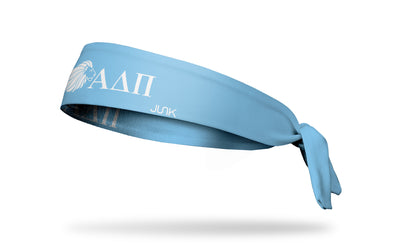 Alpha Delta Pi (ADPi) Lion Greek Letters Tie Headband