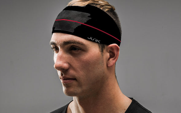 Arkansas Thin Red Line Headband