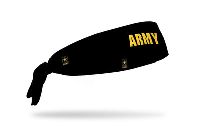 officially licensed United States Army black headband