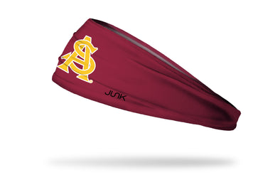Arizona State University: Baseball Maroon Headband
