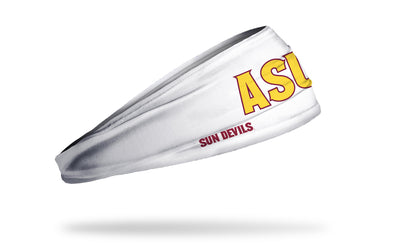 Arizona State University: ASU Sun Devils White Headband